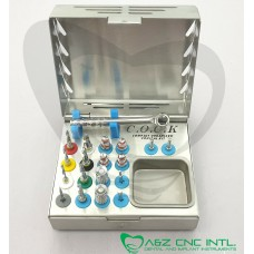 Dental Implant Conical External Irrigation Drills Kit / Conical Drills Kit