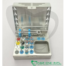 Dental Implant Complete Surgical External Irrigation Twist Drills Kit
